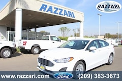 New 2019 Ford Fusion S Sedan 3FA6P0G75KR115582 For Sale in Merced, CA