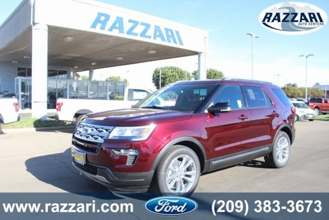 New 2018 Ford Explorer XLT SUV For Sale in Merced, CA