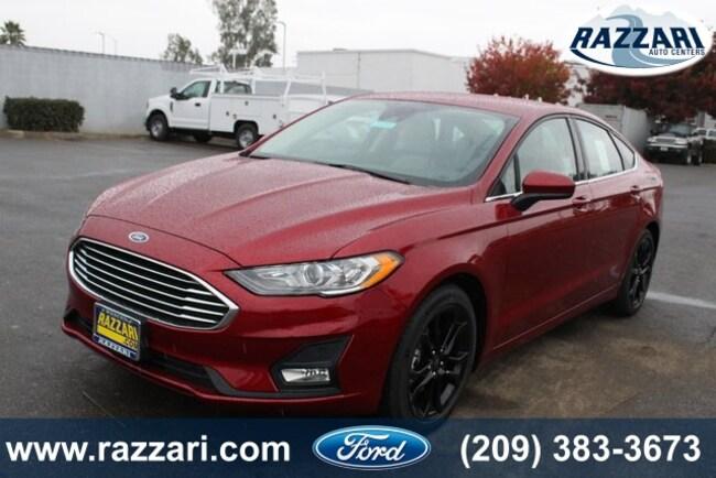 New 2019 Ford Fusion SE Sedan for sale in Merced, CA