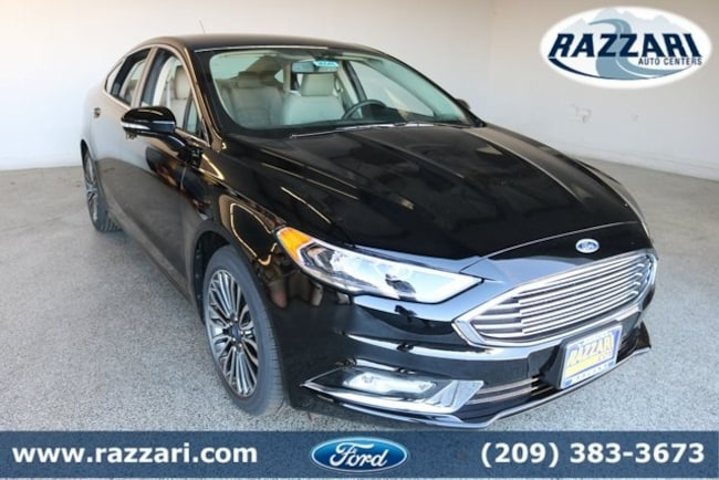New 2017 Ford Fusion SE Sedan for sale in Merced, CA