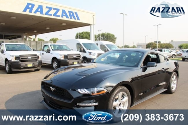 New 2018 Ford Mustang Coupe for sale in Merced, CA