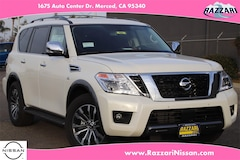 New 2020 Nissan Armada SL SUV for sale in Merced, CA
