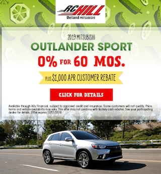 2019 Outlander Sport June Offer