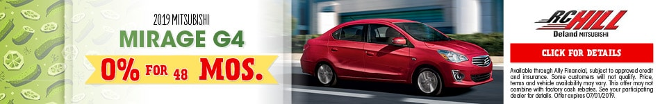 2019 Mirage G4 June Offer