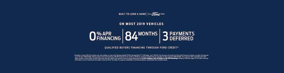 Built To Lend A Hand. Ford.