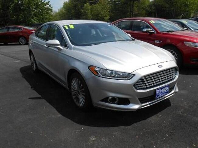 2013 Ford Fusion Titanium Sedan