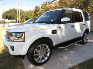 white 2016 Land Rover LR4