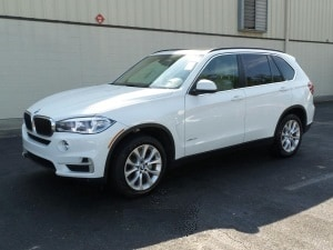 White car 2016 BMW X5