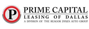 Prime Capital Auto Lease Logo. A division of Reagor Dykes Auto Group