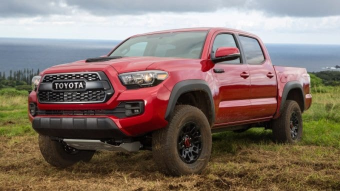 2018 Toyota Tacoma Overview Images Specs And Features