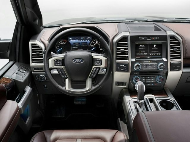 2015 Ford F-150 Interior View
