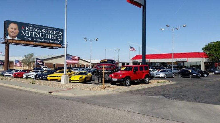 Amarillo TX Car Dealer Reagor Dykes Amarillo Mitsubishi - Mitsubishi local dealers