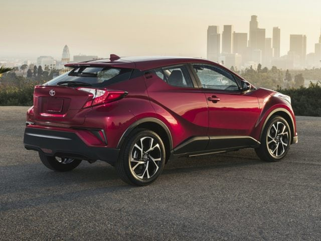 Toyota C-HR back