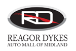 Reagor Dykes Midland Car Dealership logo redirects to the dealership page where you can find out more details about our services, offers and inventory