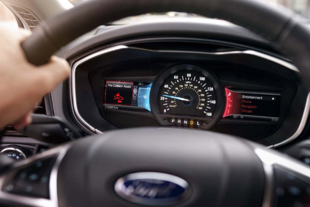 2018 Ford Fusion Safety Features Pre-Collision Assist