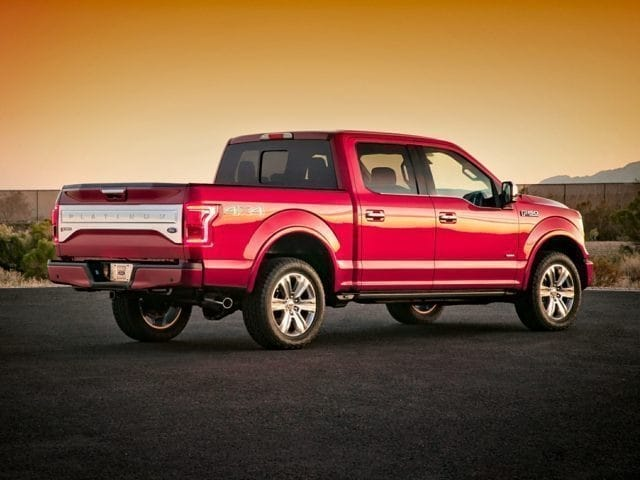 2015 Ford F-150 Rear View