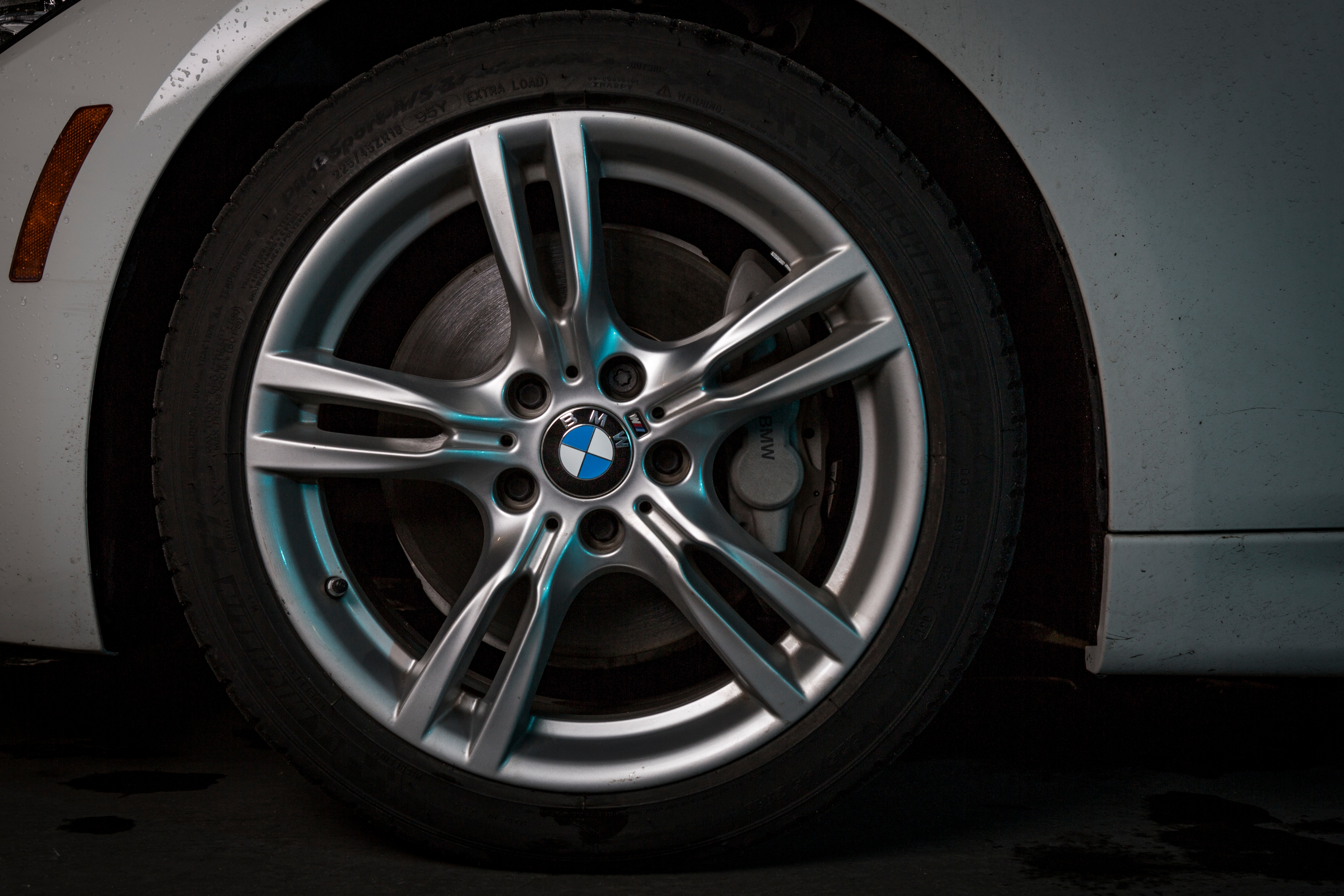 BMW tire and wheel