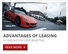 Advantages of leasing