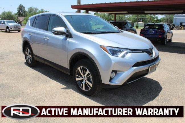 Used 2018 Toyota RAV4 XLE Sport Utility Floydada