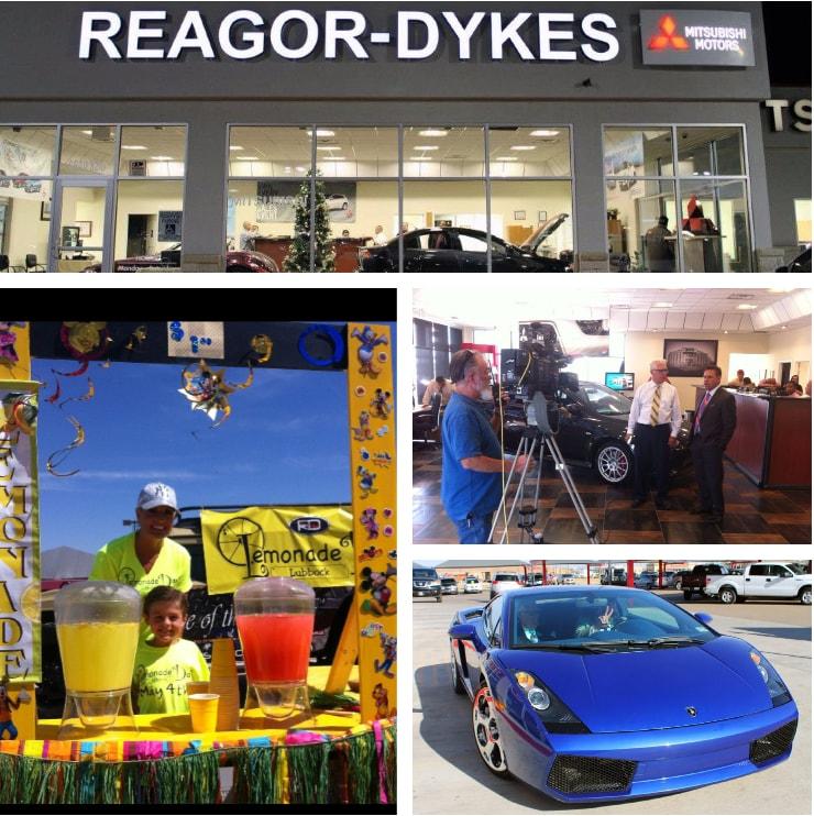 Reagor Dykes Mitsubishi Lubbock showroom