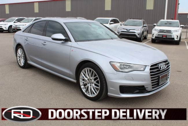 Used 2016 Audi A6 3.0T Premium Plus Quattro Sedan Levelland