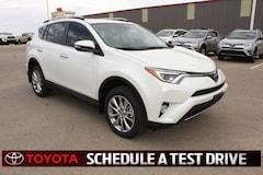 New 2018 Toyota RAV4 Limited SUV Lubbock