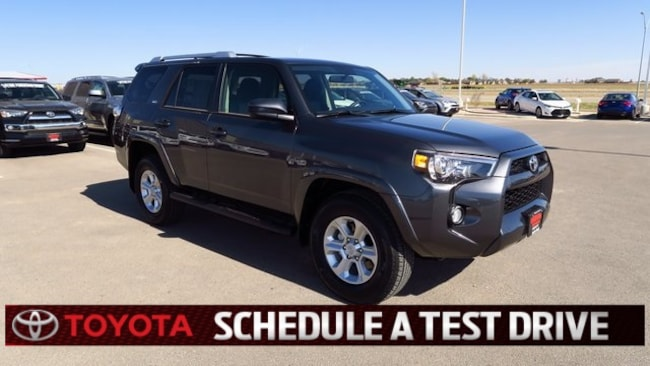 New 2018 Toyota 4Runner SR5 SUV Plainview