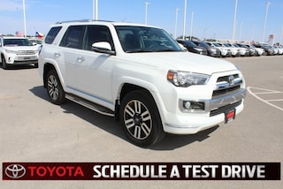 New 2018 Toyota 4Runner Limited SUV Lubbock TX