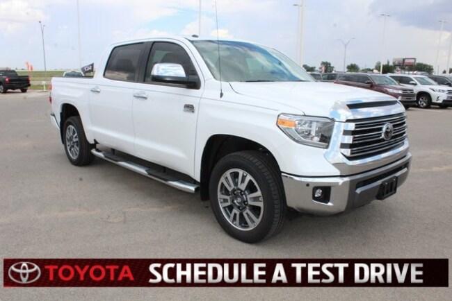 New 2018 Toyota Tundra 1794 5.7L V8 w/FFV Truck CrewMax Plainview