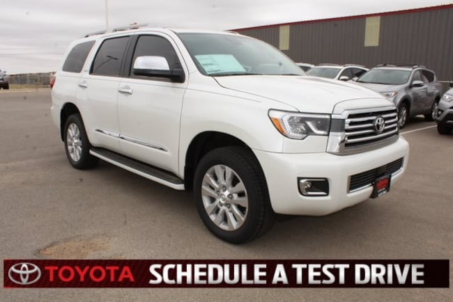 New 2018 Toyota Sequoia Platinum SUV Plainview