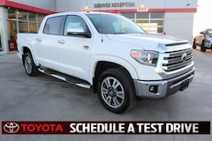 New 2018 Toyota Tundra 1794 5.7L V8 w/FFV Truck CrewMax Lubbock