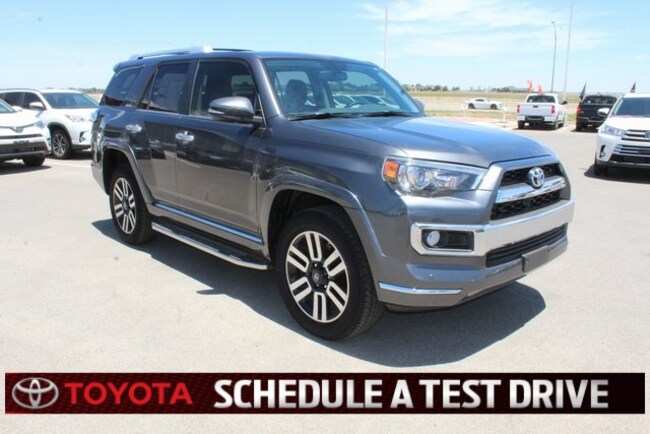 New 2018 Toyota 4Runner Limited SUV Plainview