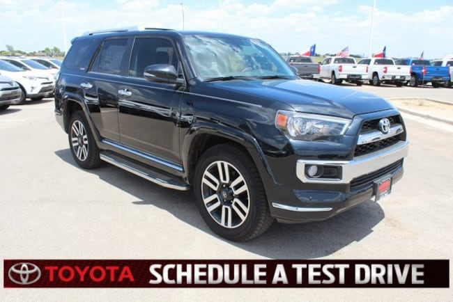 New 2018 Toyota 4Runner Limited Sport Utility Plainview