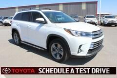 New 2018 Toyota Highlander Limited Platinum V6 SUV Lubbock