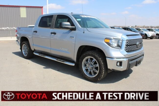 New 2018 Toyota Tundra SR5 TSS Off-Road Package CrewMax Plainview