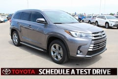 New 2018 Toyota Highlander Limited Platinum V6 SUV Lubbock