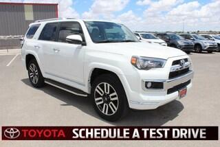New 2018 Toyota 4Runner Limited Sport Utility Lubbock TX