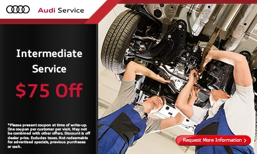$75 Off Intermediate Service