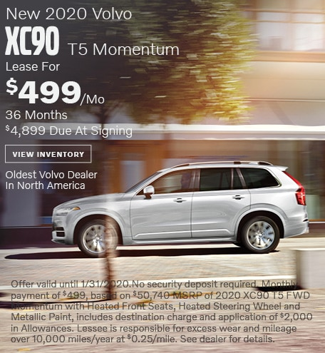 New 2020 Volvo XC90 T5 Momentum - January Special