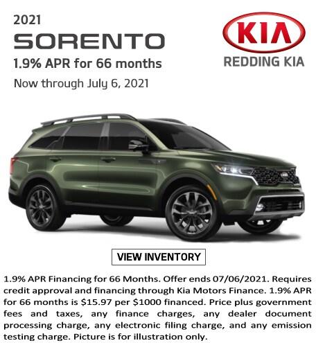 May 2021 New Kia Sorento Special