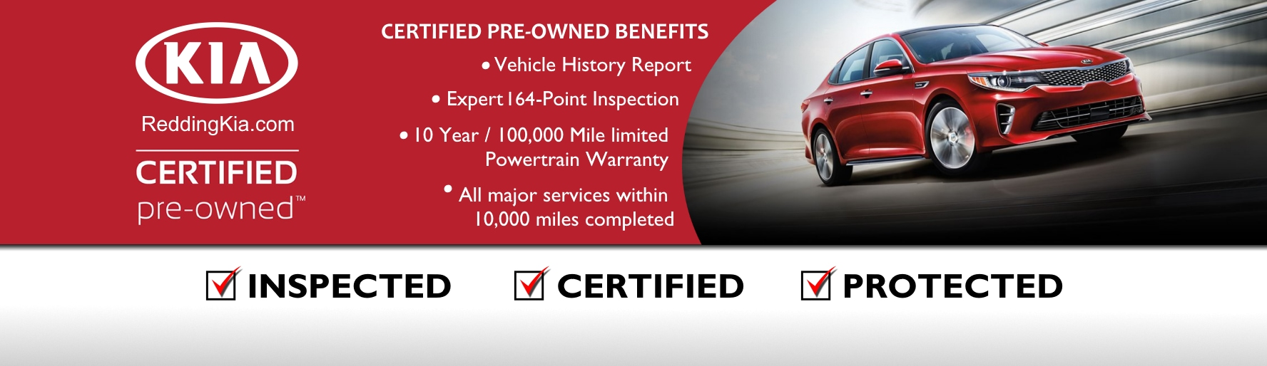 Certified Pre Owned Kia Vehicles In Redding