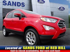 New 2018 Ford EcoSport SE SUV 18643 for sale in Red Hill, PA