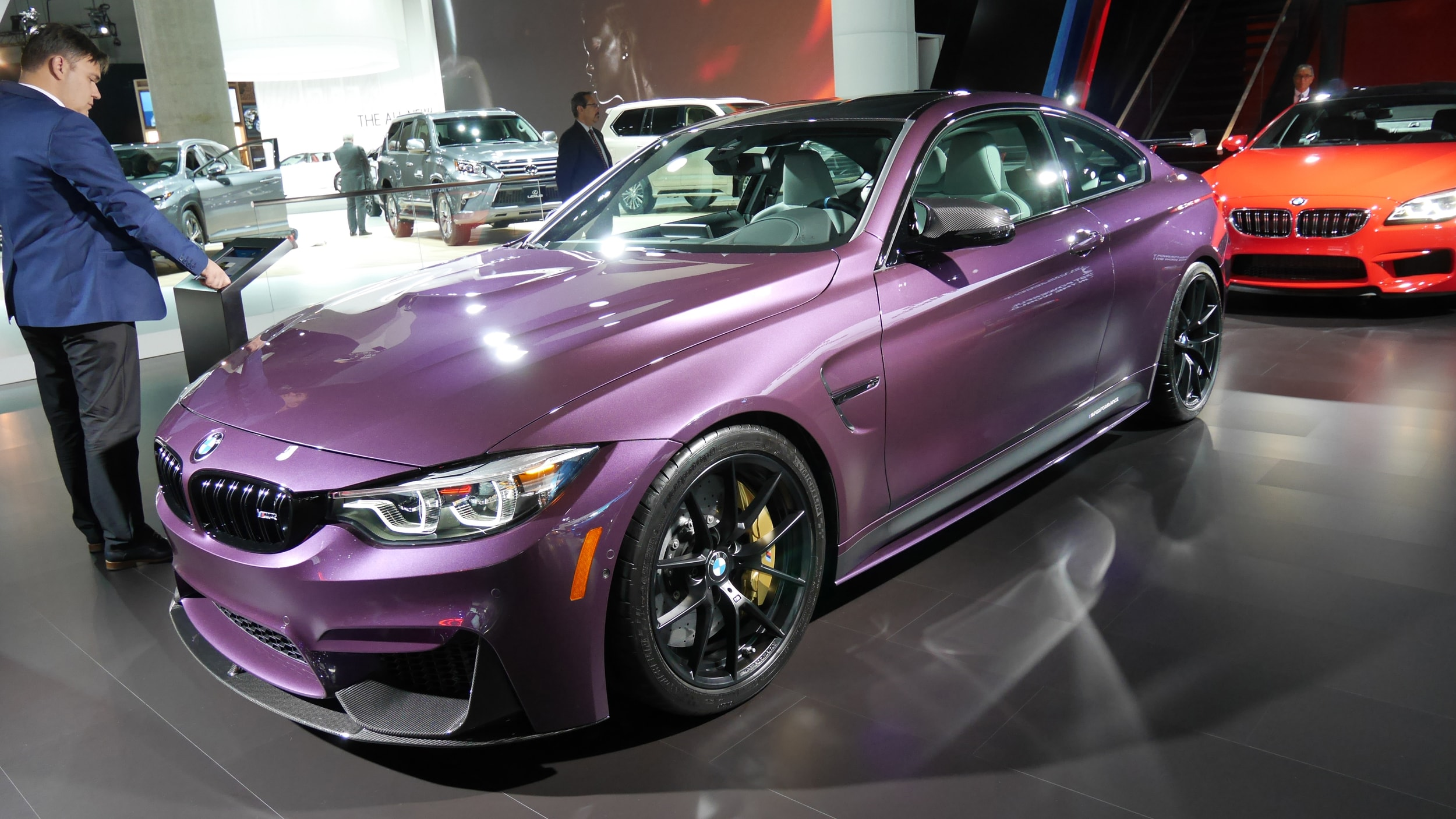 9dfc21611 Purple! Orange! Yellow! BMW is doing its best to bring color back ...