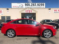 2012 Chevrolet Cruze LT RS Package, Red Seats, WE APPROVE ALL CREDIT Sedan