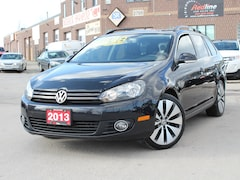 2013 Volkswagen Golf 2.5L Sportline Pano Roof-Bluetooth-Alloys Wagon