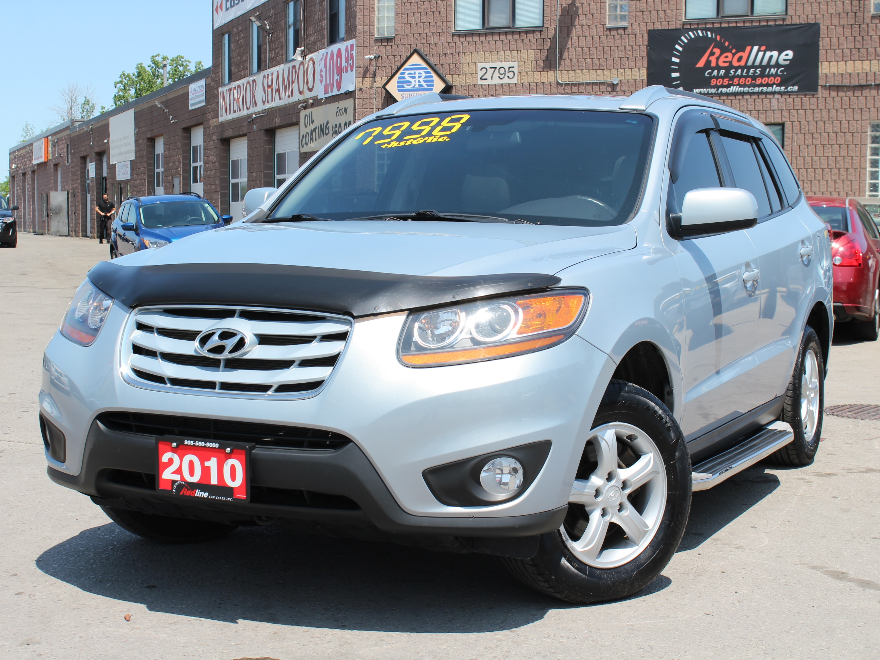 2010 Hyundai Santa Fe GL 3.5 Sport Sunroof-Leather SUV
