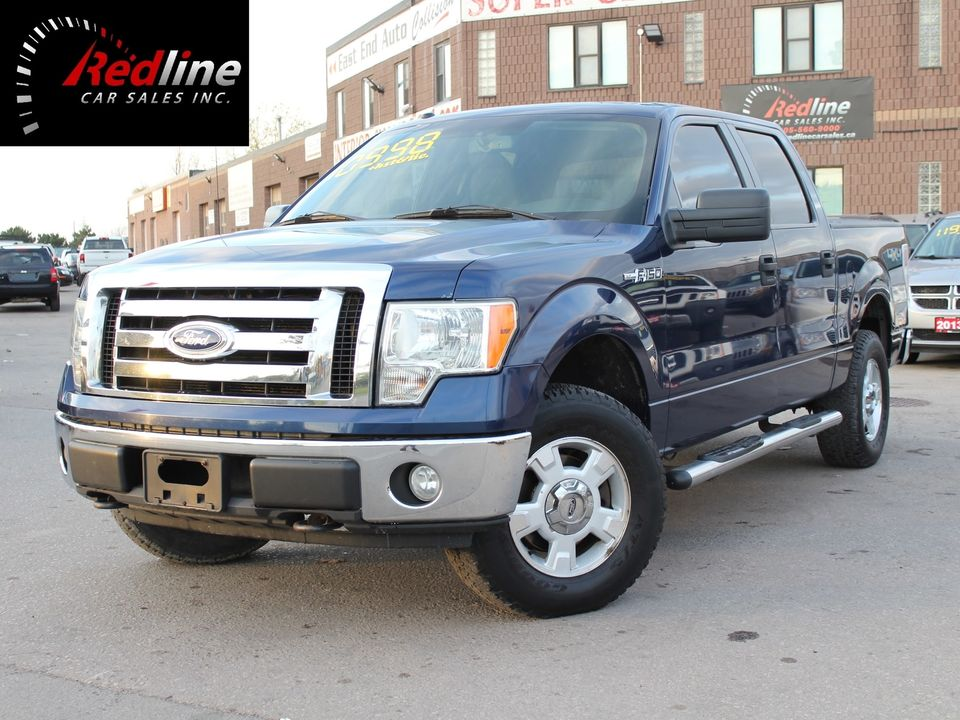 2009 Ford F-150 XLT 4X4 SuperCrew 4.6L V8 Truck SuperCrew Cab