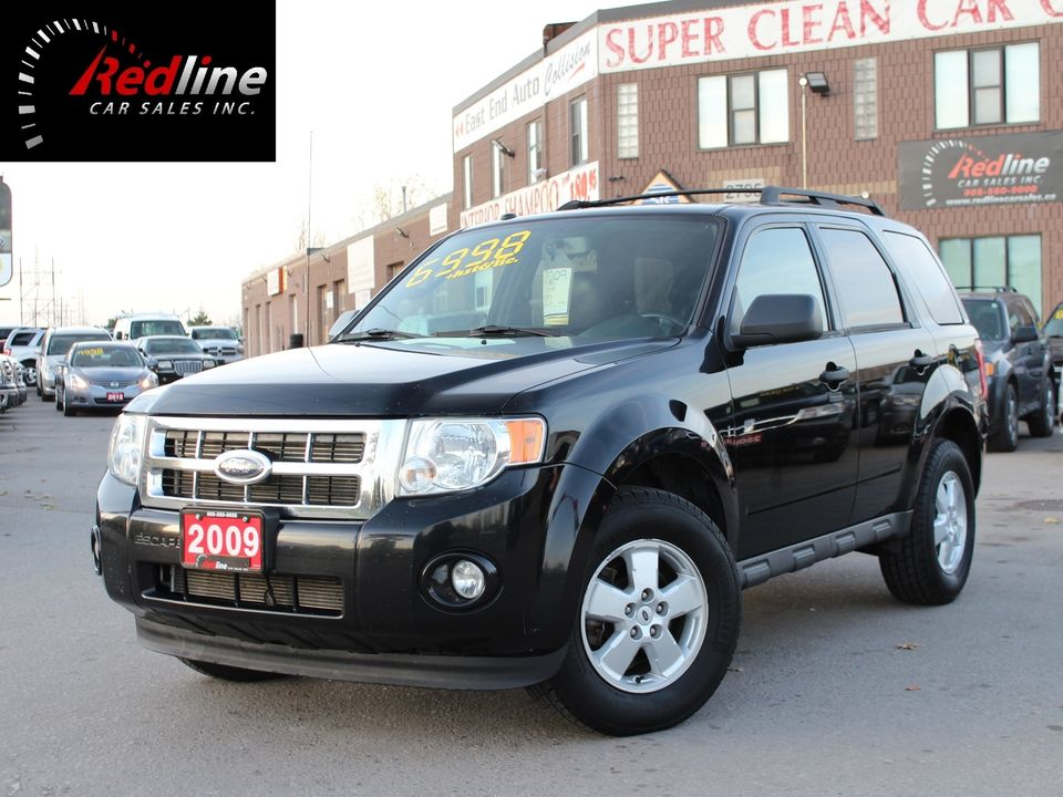 2009 Ford Escape XLT V6 Accident Free-Leather-Bluetooth SUV