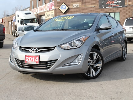 2014 Hyundai Elantra Limited Navi-Bluetooth-Leather Sedan