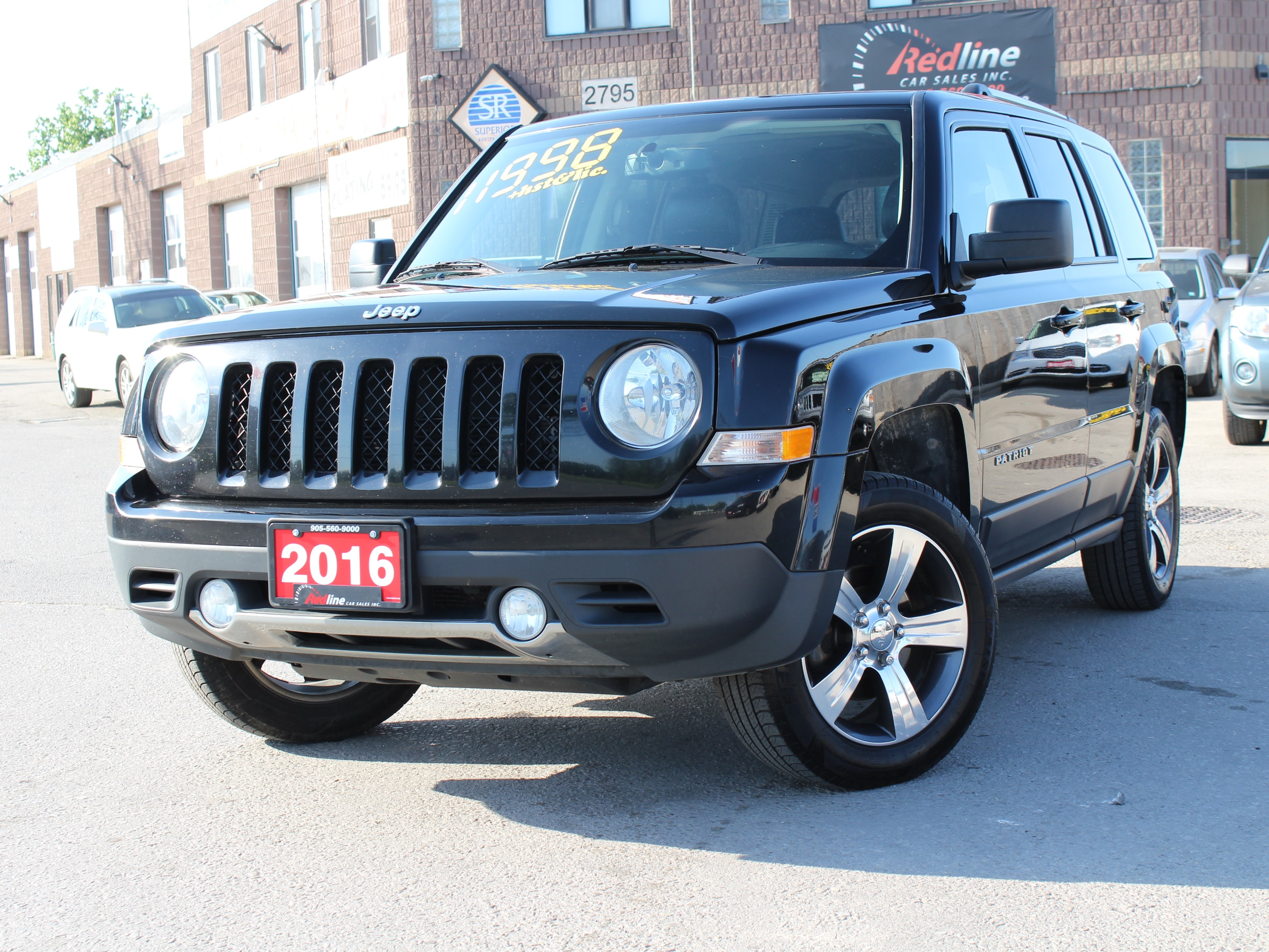 2016 Jeep Patriot High Altitude 4X4 Leather-Navi-Sunroof SUV